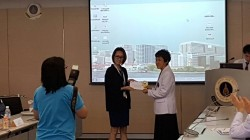 ขอแสดงความยินดีกับนางสาวฐาปนี พุ่มพวง นักศึกษาปริญญาโท ได้รับรางวัล Oral Presentation Award for M.Sc. Student (Basic Medical Research) เมื่อวันที่ 19 พฤษภาคม 2559Thapanee Poompoung got reward from Oral Presentation Award for M.Sc. Student (Basic Medical Research)